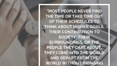 Most people never find the time or take time out of their schedules to think about- Dr Prem Jagyasi Quote