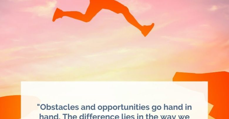 Obstacles and opportunities go hand in hand-Dr Prem Jagyasi Quotes