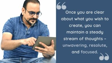 Once you are clear about what you wish to create, you can maintain a steady stream- Dr Prem Jagyasi Quotes