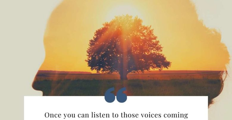 Once you can listen to those voices coming from within- Dr Prem Jagyasi Quotes