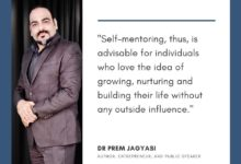 Self-mentoring, thus is advisable for individuals- Dr Prem Jagyasi Quote