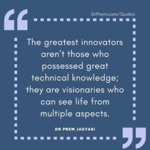 The greatest innovators