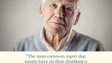 The most common regret that people have on their deathbed-Dr Prem Jagyasi Quote