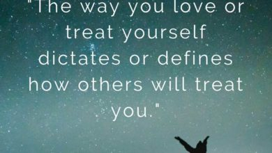 The way you love or treat yourself- Dr Prem Quotes