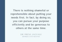 Photo of There is nothing shameful or reprehensible about putting your needs first. In fact, by doing so, you can pursue your purpose efficiently and be generous to others at the same time.