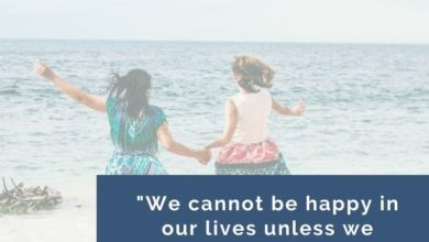 We cannot be happy in our lives unless- Dr Prem Jagyasi Quote
