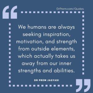 We humans are always seeking inspiration