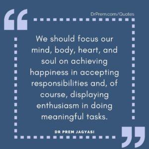 We should focus our mind
