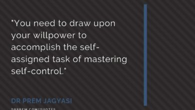 Photo of You need to draw upon your willpower to accomplish the self-assigned task of mastering self-control.