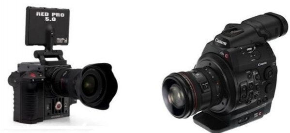 Face-off: Canon C300 vs RED Scarlet-X