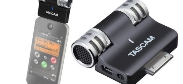 TASCAM reveals new stereo mic for iPhone, iPad