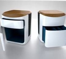Phoebus wireless speakers give the furniture a new musical dimension