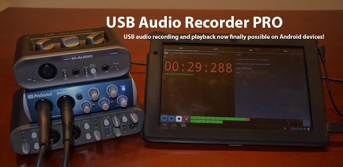 USB Audio Recorder To Bring First Audio Recorder Supporting Android