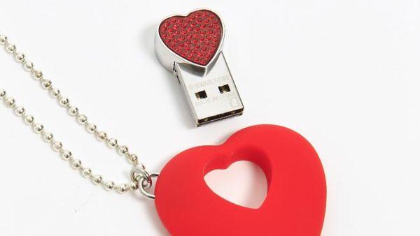Swarovski USB Necklace