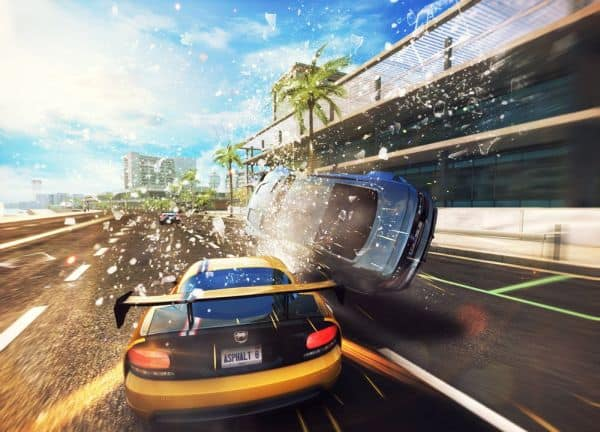 Asphalt 8 multiplayer game for android