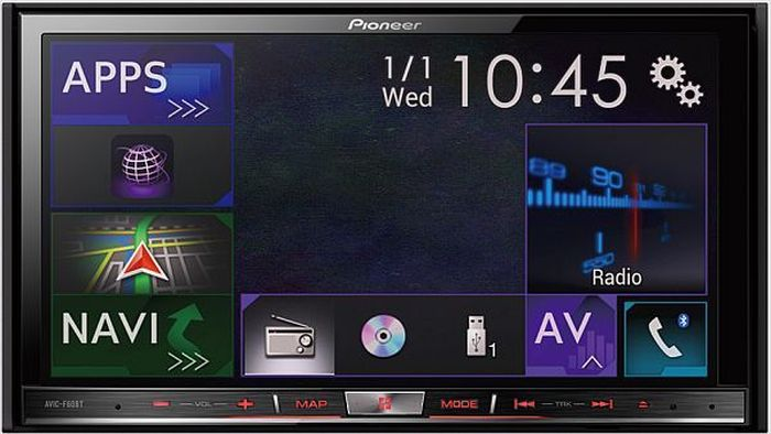 Pioneer AVIC-F60BT: Review