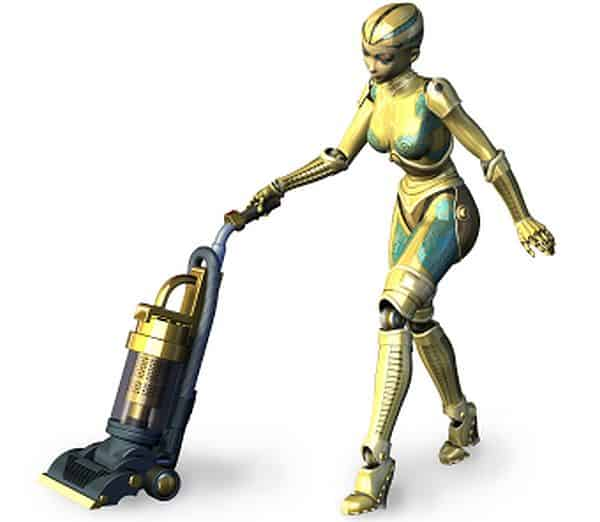 Robot house cleaners