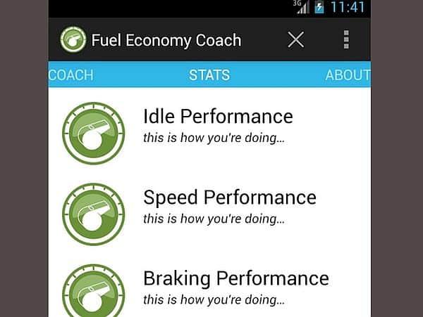 Fuel Economy coach