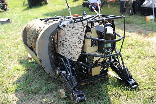 Legged Squad Support System robot