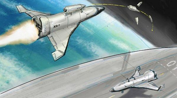 Spaceplane of DARPA