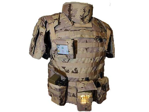 Intelligent uniforms for soldiers