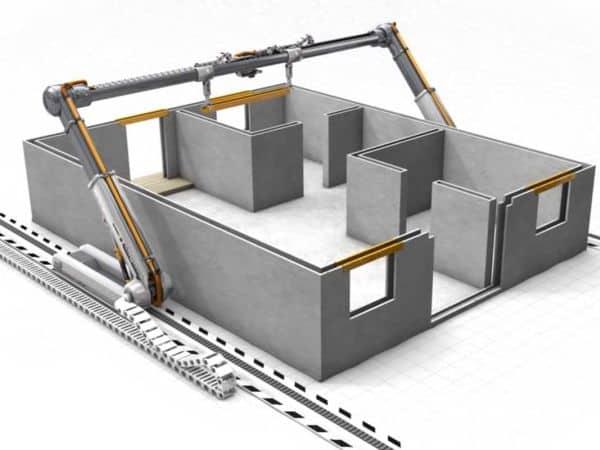 3D printed housing