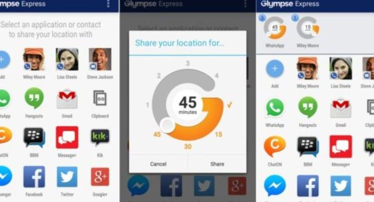 Glympse Express - Review