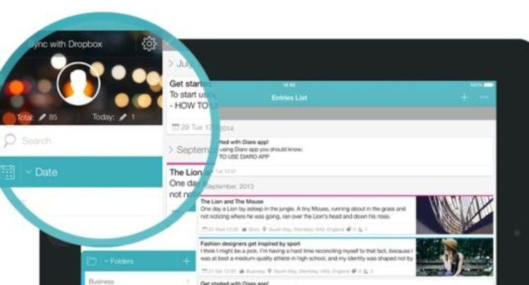 Diaro app - Review