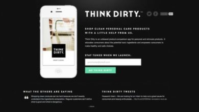 Photo of Think Dirty: The app that lets you choose the cleanest personal products