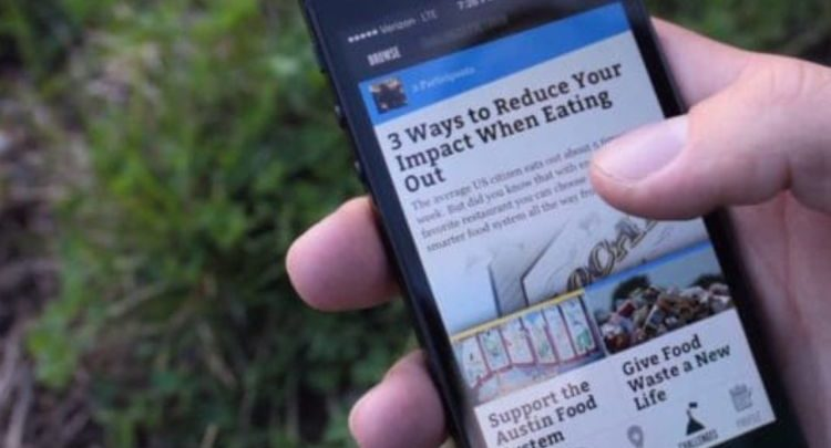 eEcosphere app lets you spread the idea of sustainability and environment love