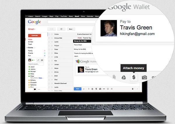 Gmail to send money
