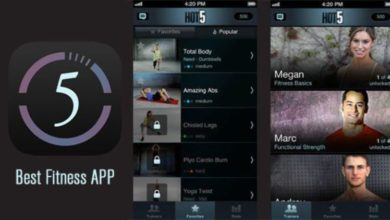 Hot5 app works on a quick and hot workout