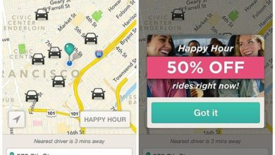 Lyft makes a better appearance for the taxi niche