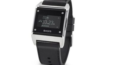 Basis Carbon Steel is a cool and multifunctional fitness tracker