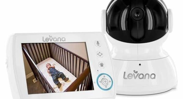 Levana Astra Digital Baby Video Monitor 7.4