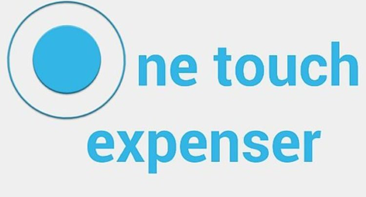 Manage and track your expenses with One Touch Expenser