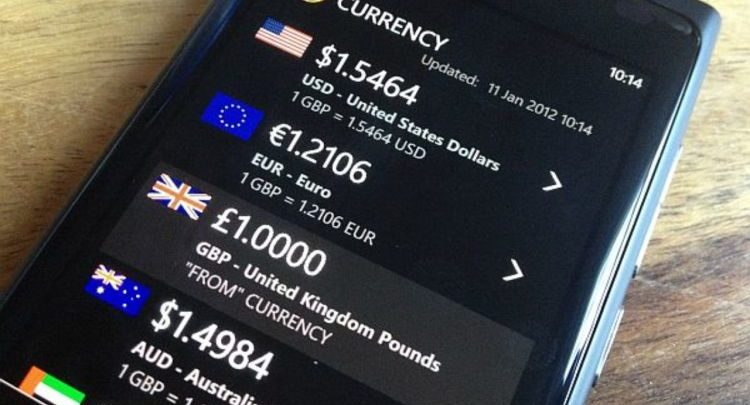 XE Currency makes it easier to deal with currency conversion issues