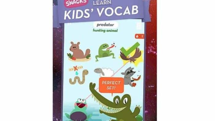 Kids' Vocab – Mindsnacks helps build vocabulary and skills of a child