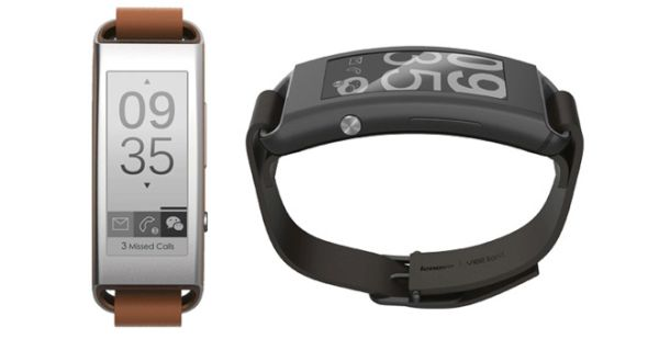 Vibe Band with e-ink display
