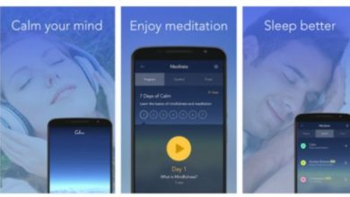 Take a trip to soothing world of meditation with the Calm app