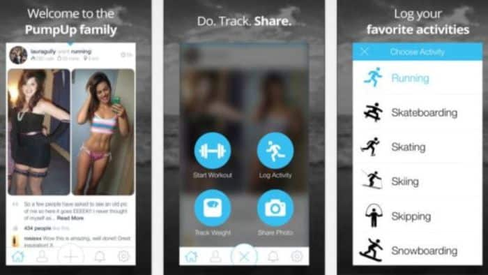 Keep your fitness on track with PumpUp