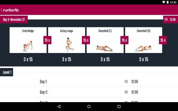Runtastic leg trainer app 1