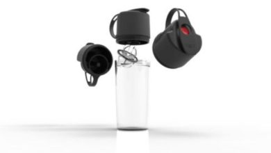 Umoro One cool water bottle and shaker is your new gym companion