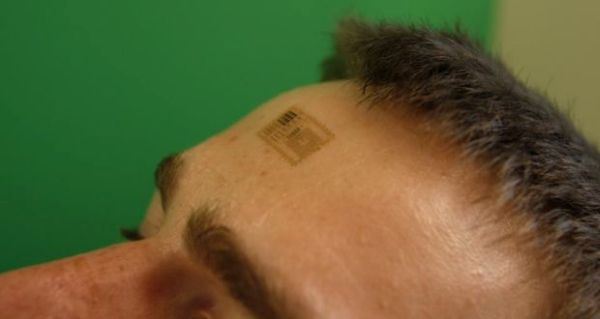 Wearable computer for your skin