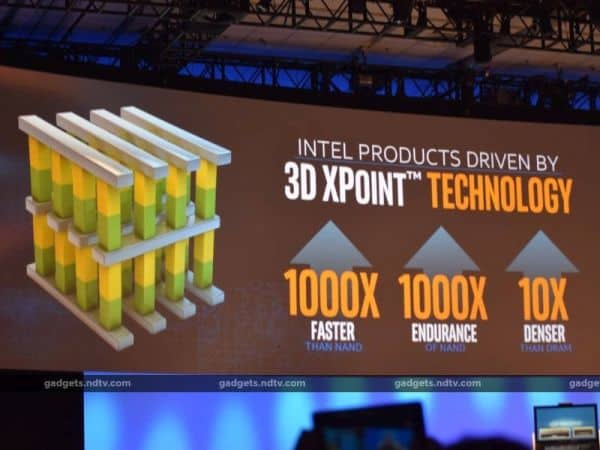 Photo of Intel makes SSDs superpowered with the 3D XPoint