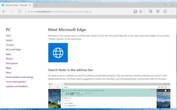 Microsoft Edge web browser (2)