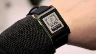 Photo of Pebble shows its skills in wearables with 'Time'