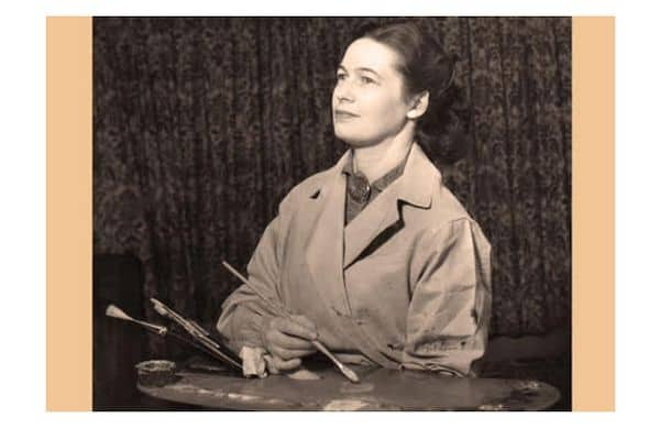 Photo of Louise Altson – A successful portrait painter in a man's world