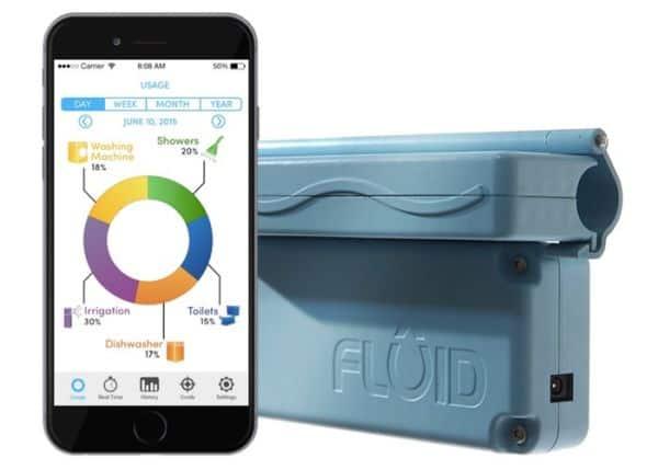 FLUID is a smart water meter