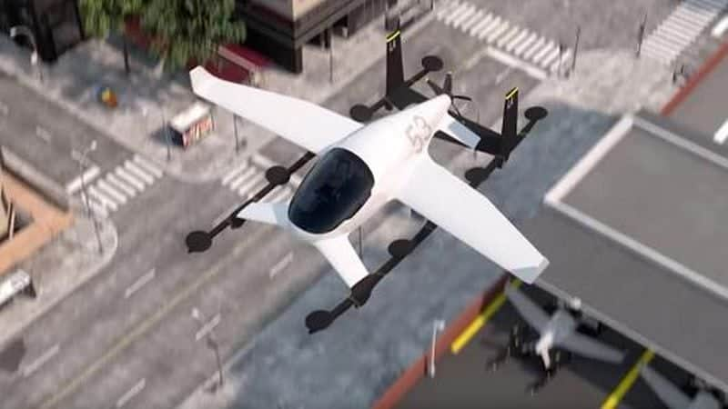 Uber's flying taxi project